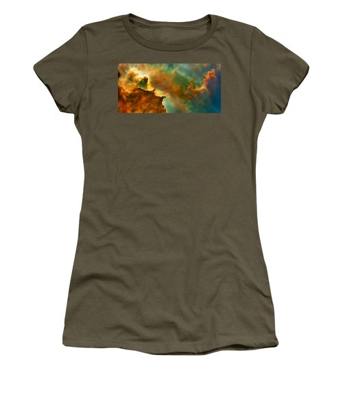 Nebula Cloud Women's T-Shirt (Athletic Fit)