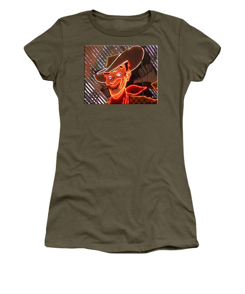 Neon Cowboy Of  Las Vegas Women's T-Shirt