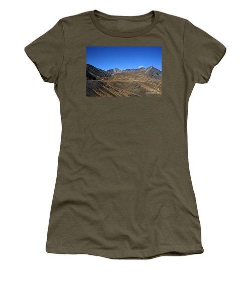 Nevado De Toluca Mexico Women's T-Shirt