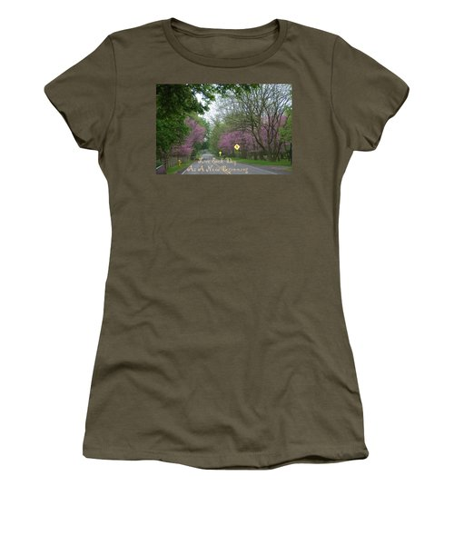 Women's T-Shirt (Junior Cut) featuring the photograph New Beginning by Aimee L Maher Photography and Art Visit ALMGallerydotcom