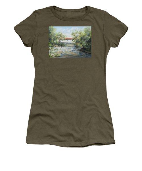 New Jersey's Last Covered Bridge Women's T-Shirt