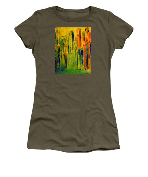 New York On A Hot June Morning Women's T-Shirt (Athletic Fit)