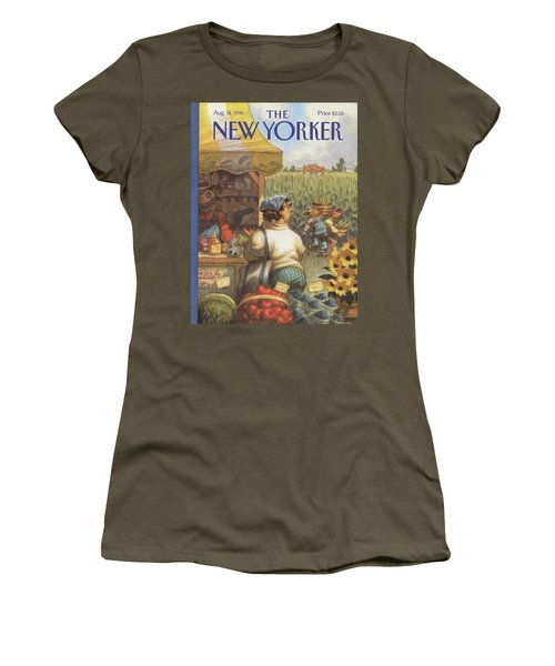 New Yorker August 14th, 1995 Women's T-Shirt