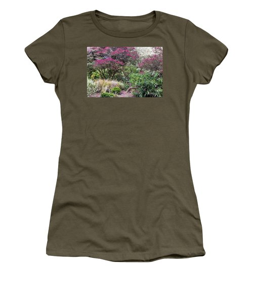Women's T-Shirt featuring the photograph New Zealand Tea Tree II by Kate Brown