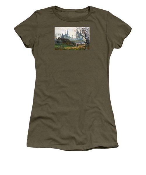 Nicholas Uleyminsky Monastery Women's T-Shirt (Athletic Fit)