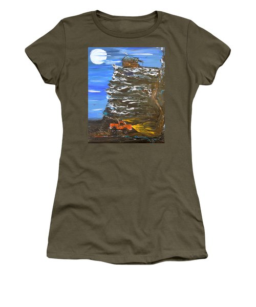 Night Shack Women's T-Shirt (Athletic Fit)