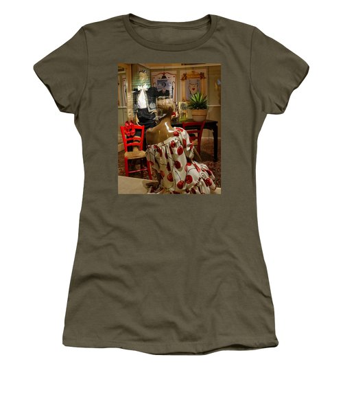 Women's T-Shirt (Junior Cut) featuring the photograph Cherry Bomb by Natalie Ortiz