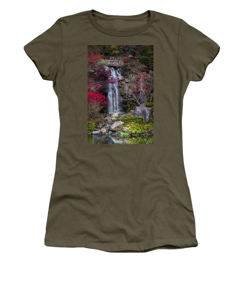 Nishi No Taki Women's T-Shirt (Athletic Fit)