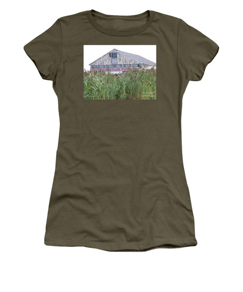Women's T-Shirt (Junior Cut) featuring the photograph  Newburyport by Eunice Miller