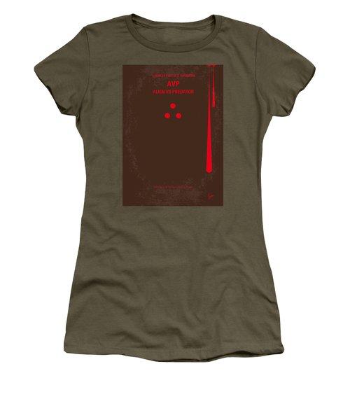 No148 My Avp Minimal Movie Poster Women's T-Shirt