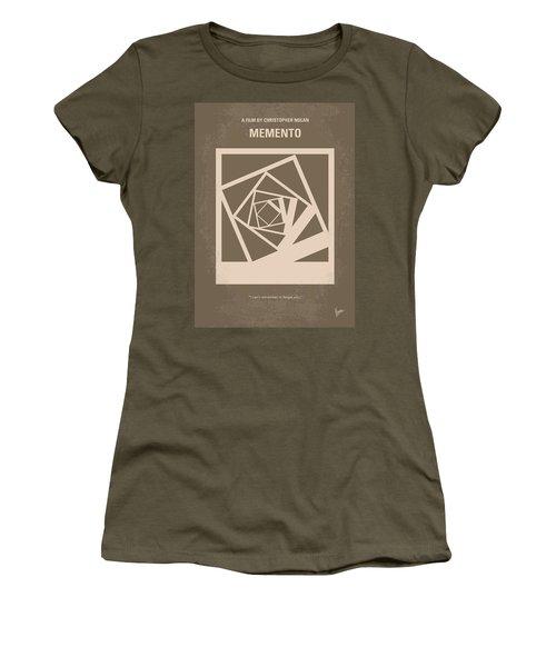 No243 My Memento Minimal Movie Poster Women's T-Shirt