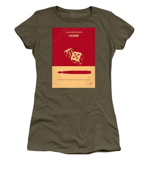 No348 My Casino Minimal Movie Poster Women's T-Shirt