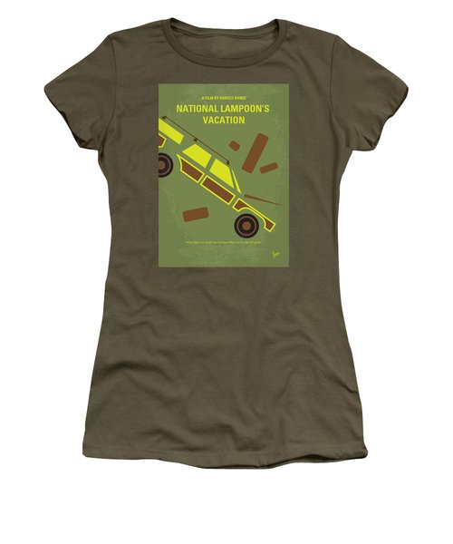 No412 My National Lampoons Vacation Minimal Movie Poster Women's T-Shirt