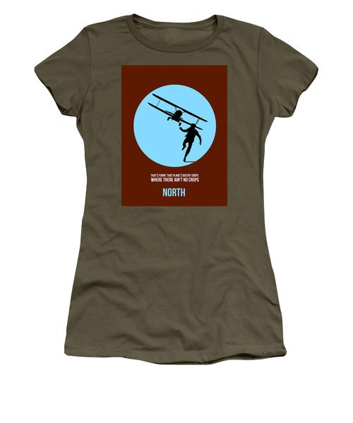 North By Northwest Poster 2 Women's T-Shirt