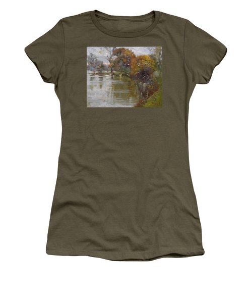 November 4th At Hyde Park Women's T-Shirt (Junior Cut) by Ylli Haruni