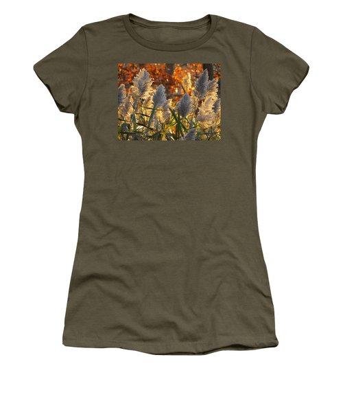Women's T-Shirt (Junior Cut) featuring the photograph November Lights by Dianne Cowen