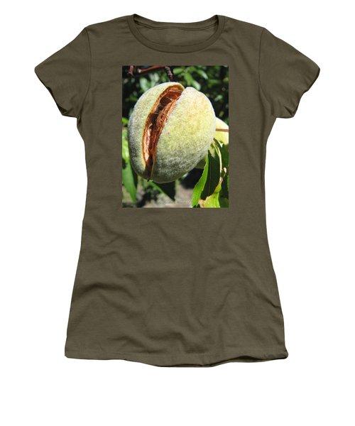 Women's T-Shirt (Junior Cut) featuring the photograph Nut Case by Brooks Garten Hauschild