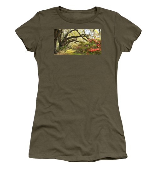 Oaks And Azaleas Women's T-Shirt (Athletic Fit)
