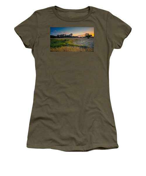 October Evening On The Farm Women's T-Shirt