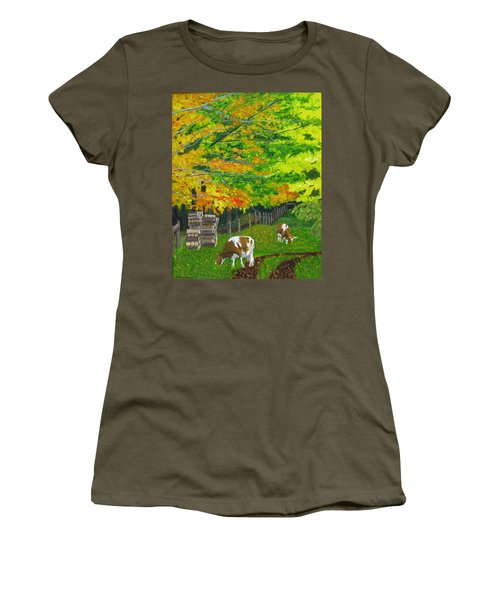 October Pasture Women's T-Shirt (Athletic Fit)