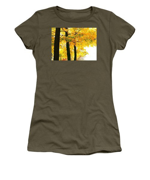 Ohio Autumn Women's T-Shirt (Athletic Fit)