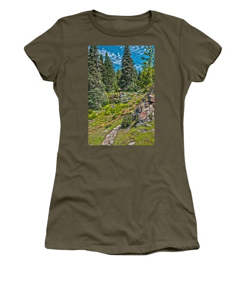 Ohme Gardens Women's T-Shirt (Athletic Fit)
