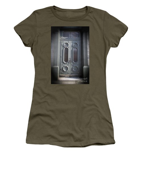 Old Doorway Quebec City Women's T-Shirt