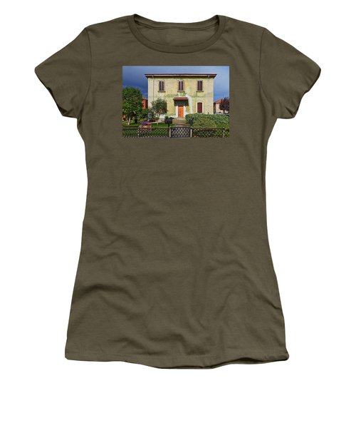 Old House In Crespi D'adda Women's T-Shirt (Athletic Fit)