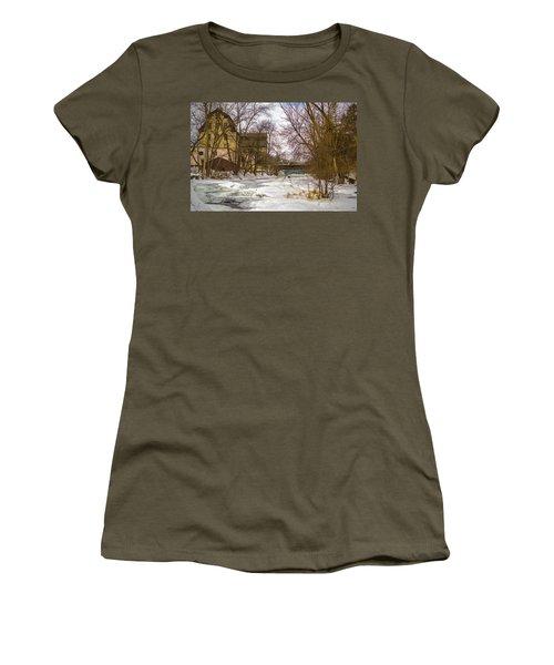 Old Mill Winter Women's T-Shirt