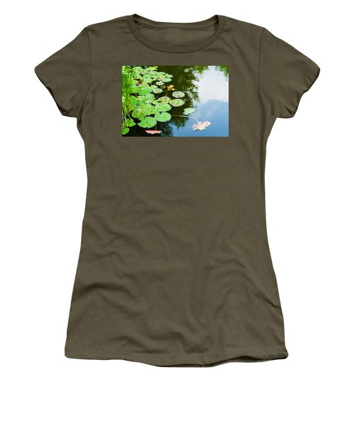 Old Pond - Featured 3 Women's T-Shirt (Junior Cut) by Alexander Senin