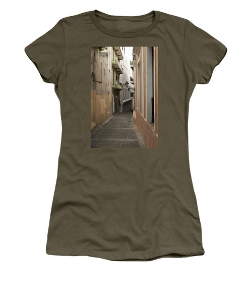 Old San Juan Street Women's T-Shirt