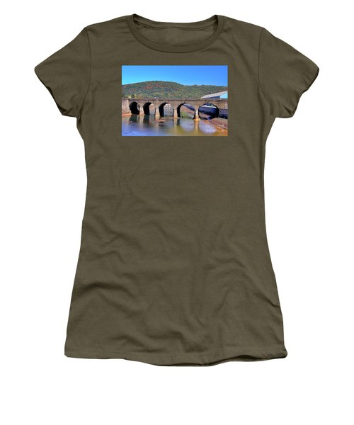 Old Stone Bridge - Johnstown Pa Women's T-Shirt