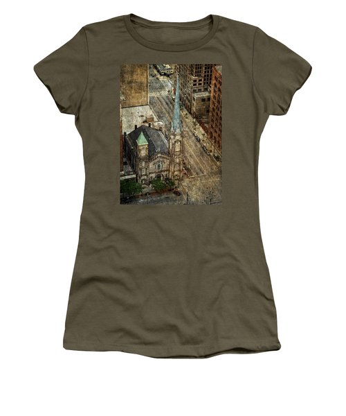 Old Stone Church Women's T-Shirt