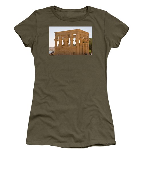 Old Structure 3 Women's T-Shirt (Athletic Fit)