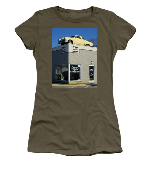 Old Studebaker Building Women's T-Shirt