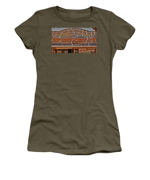 Old Town Saloon Women's T-Shirt (Athletic Fit)