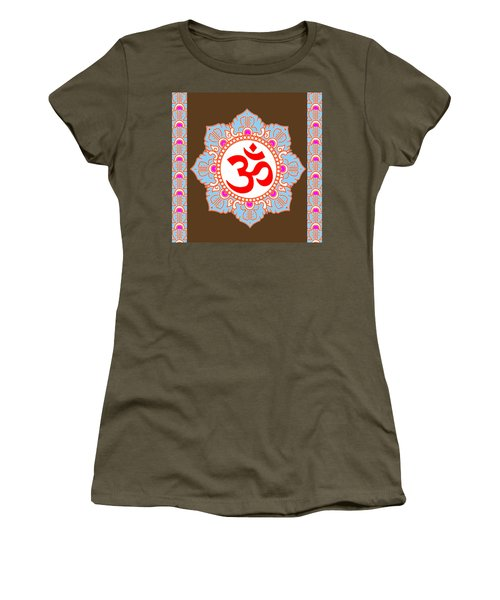 Women's T-Shirt (Junior Cut) featuring the photograph Om Mantra Ommantra by Navin Joshi