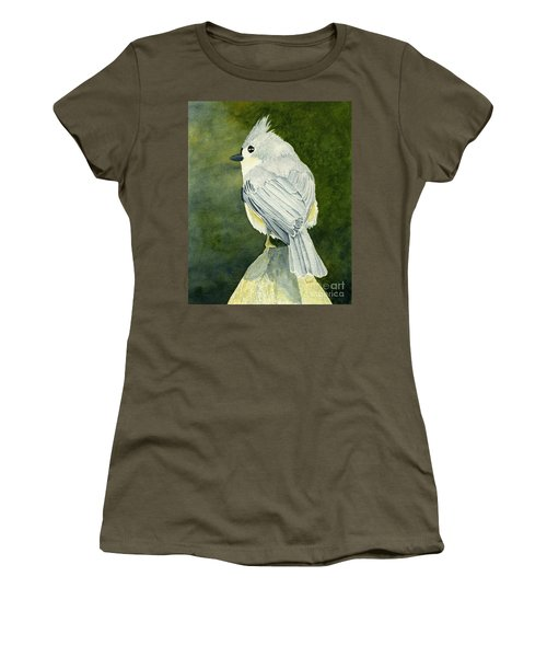 On Top Of The World Women's T-Shirt (Athletic Fit)