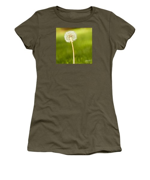 One Wish  Women's T-Shirt (Junior Cut) by Artist and Photographer Laura Wrede