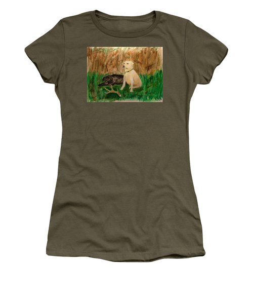 Onyx And Sarge Women's T-Shirt (Athletic Fit)