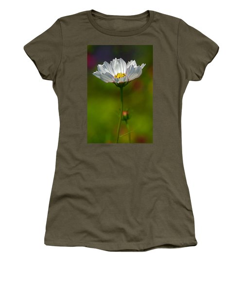 Women's T-Shirt (Junior Cut) featuring the photograph Open For All by Byron Varvarigos