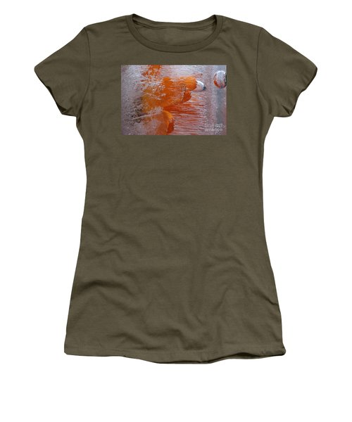 Orange Flower Women's T-Shirt