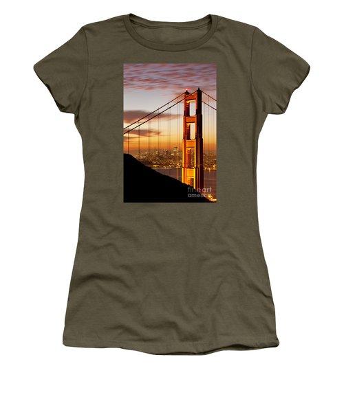 Orange Light At Dawn Women's T-Shirt