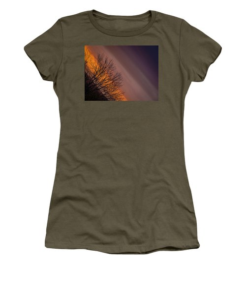 Orange Sunrise Women's T-Shirt