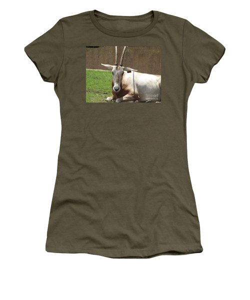 Oryx Women's T-Shirt (Junior Cut) by DejaVu Designs
