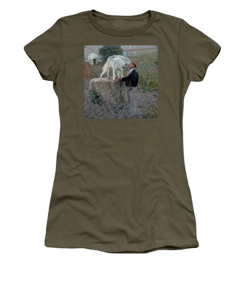 Out Of Africa  Friendly Wolves Women's T-Shirt