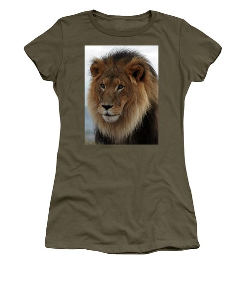 Out Ofafrica  Lion 4 Women's T-Shirt (Athletic Fit)