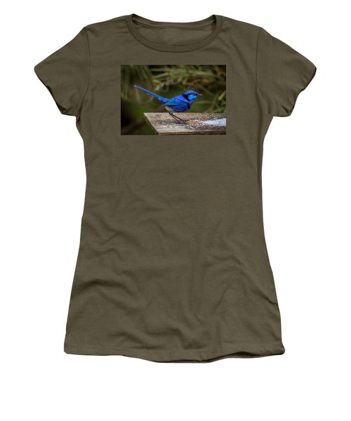 Outside Diner Women's T-Shirt (Athletic Fit)
