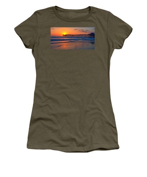 Pacific Beach Pier - Ex Lrg - Widescreen Women's T-Shirt