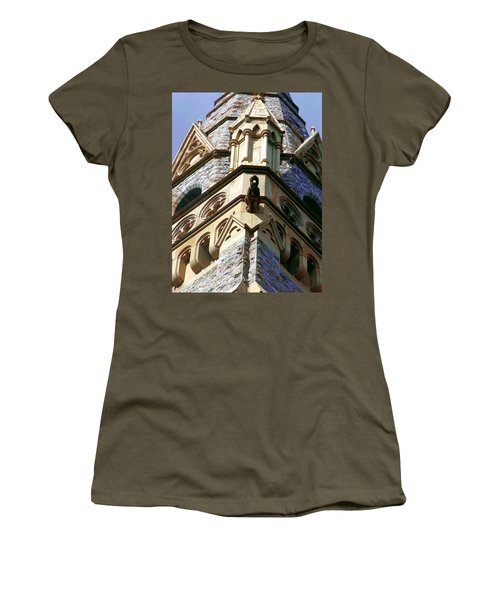 Packer Memorial Church Detail Women's T-Shirt (Junior Cut) by Jacqueline M Lewis